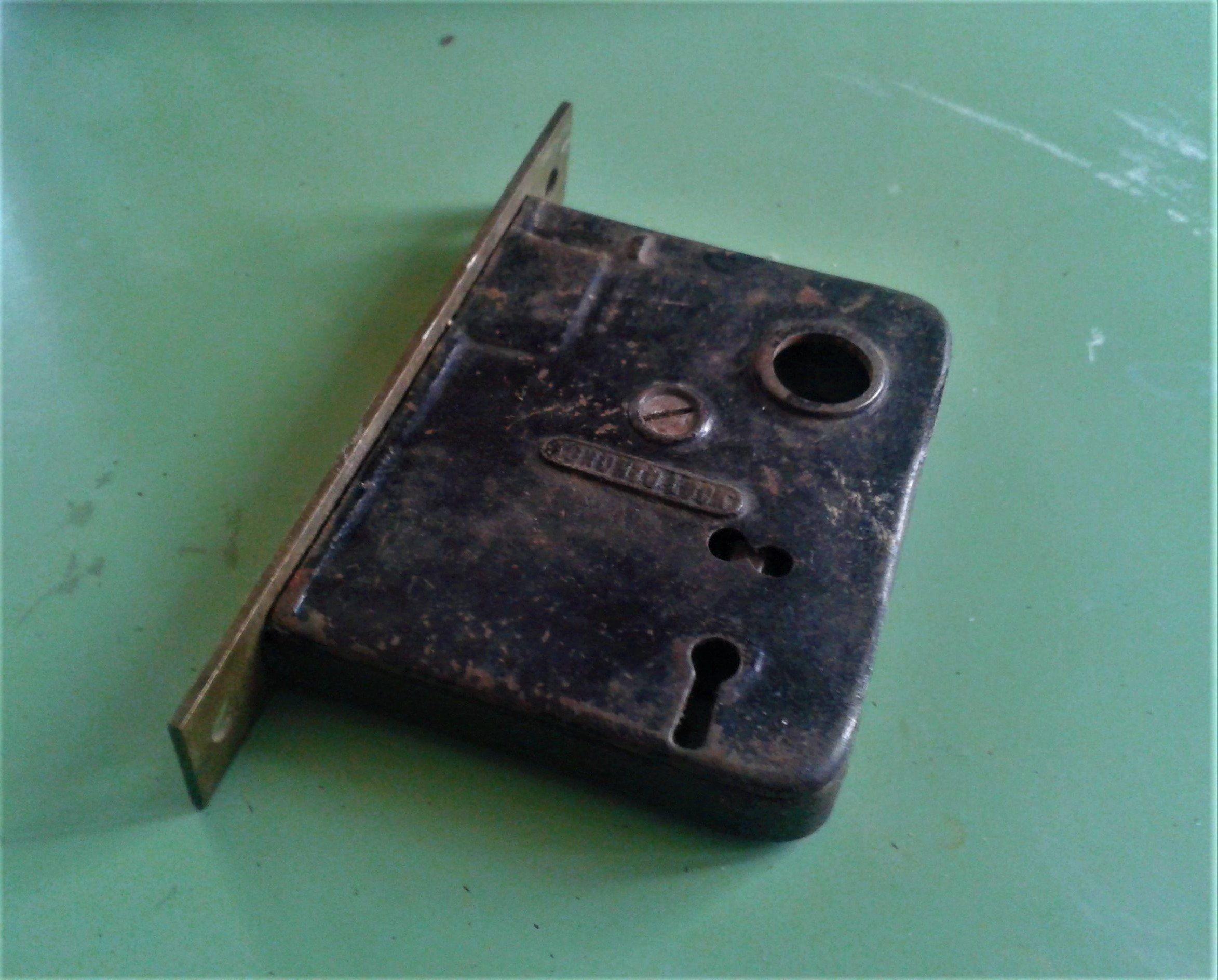Old Door Lock Vintage Mortise Lock Antique Door Hardware