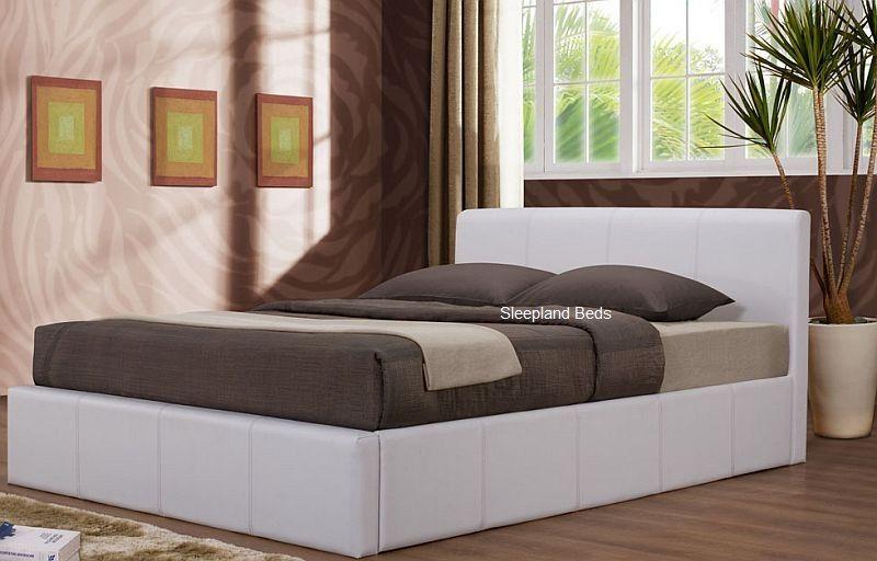 White Ottoman Storage Bed & White Ottoman Storage Bed | Bedroom | Pinterest | Storage beds ...