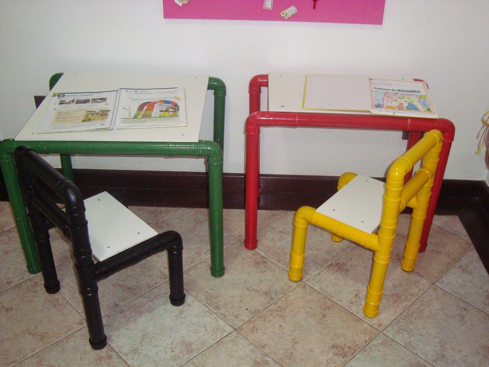 Sv M Veis E Brinquedos Planejados Artesanato Com Tubos De Pvc  # Muebles Con Tuvos