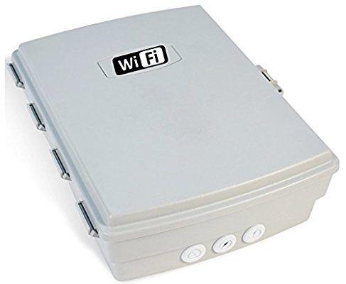Waterproof Wifi Indoor Outdoor Weatherproof Enclosure Cabinet Box Wifi Weather Proof Box Amazon Com Cabinet Boxes Weatherproofing Velcro Tape
