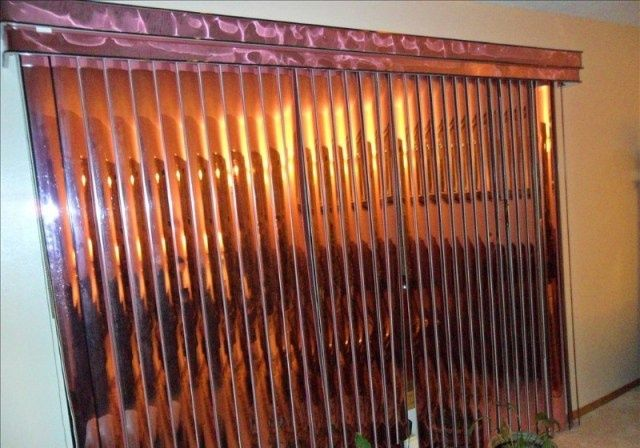 Copper Vertical Blinds Blinds Copper Home