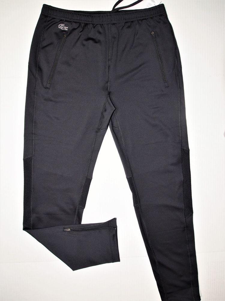 Lacoste Men S Performance Track Tight Men S Pants Us Size Medium Eu Size 4 Lacoste Activewearpants Tight Pants Men Lacoste Men Mens Pants