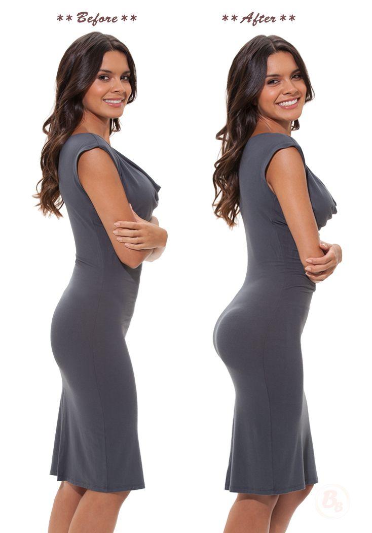 1fa3dfa095baf This Bubbles Bodywear butt-lifting body shaper slims