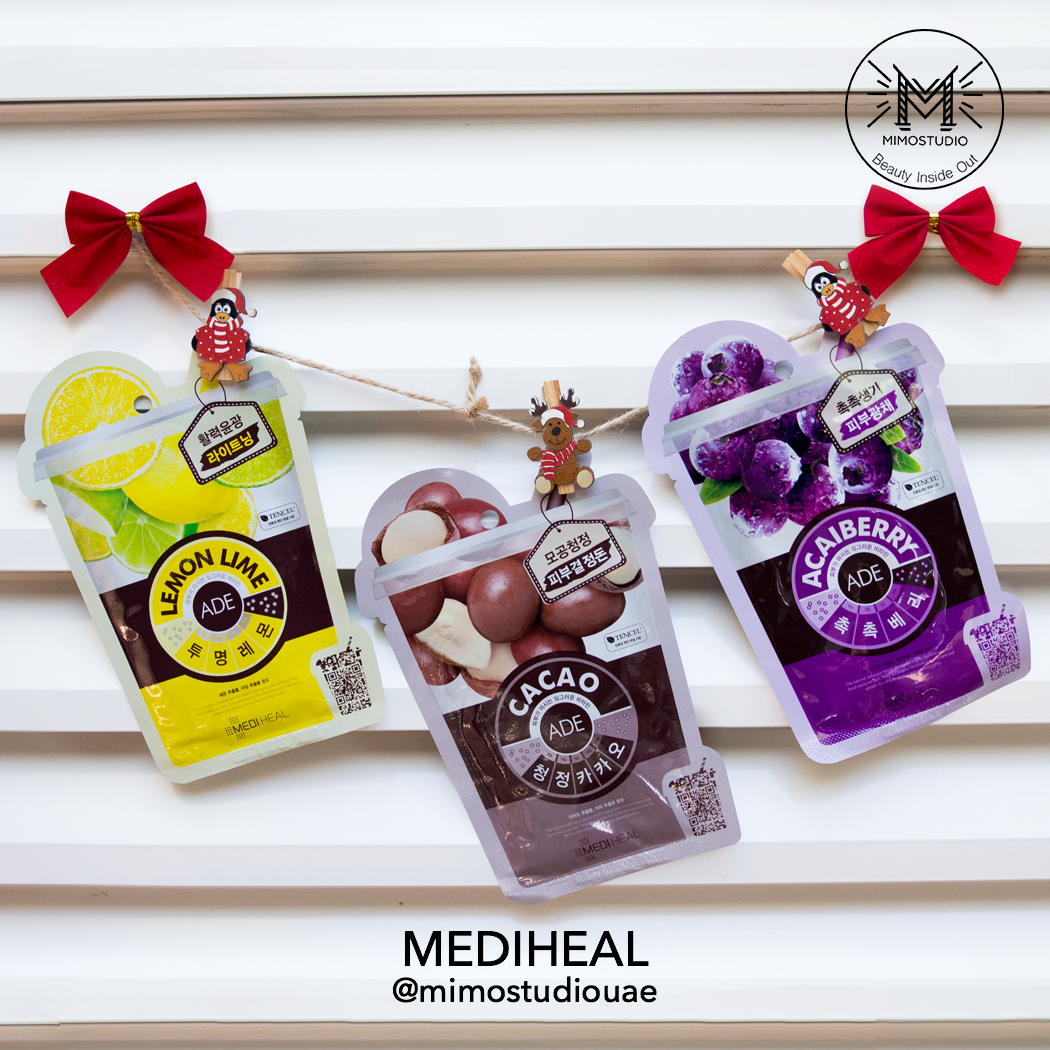 Mediheal Ade Mask Acai Berry, Lemon Lime and Cacao