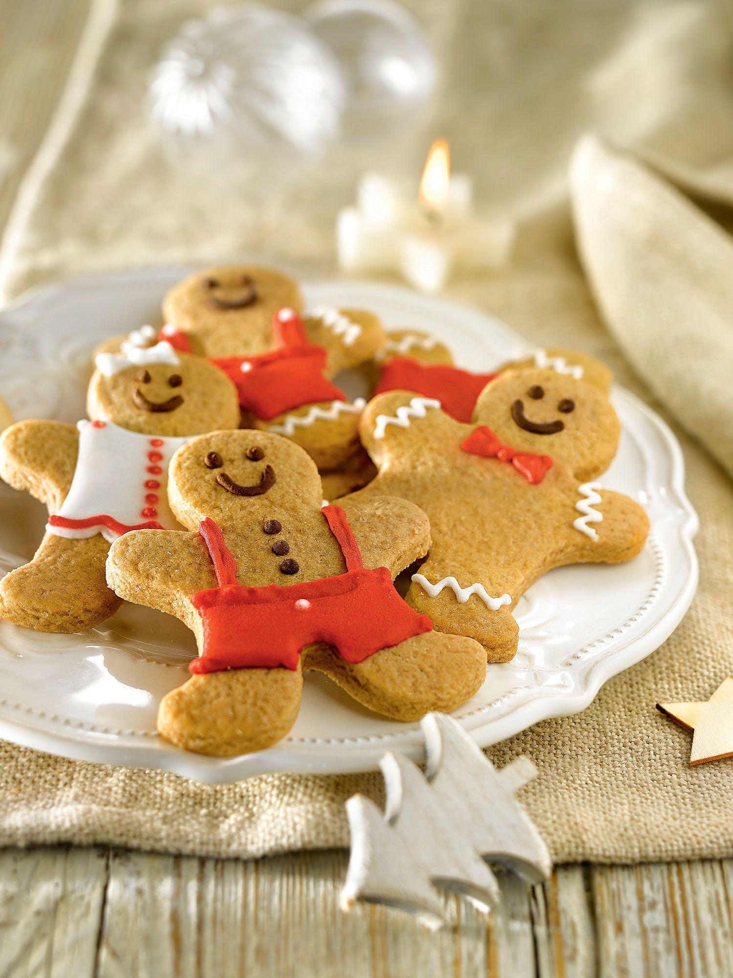 Muñequitos De Canela Y Jengibre Galletas De Jengibre Navidad Recetas De Galletas De Navidad Galletas De Miel