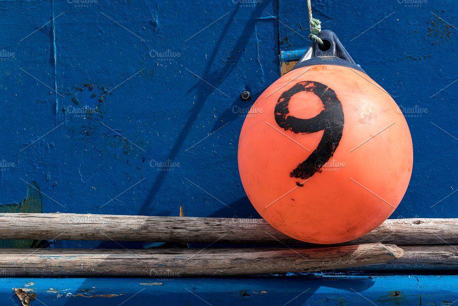 Painted blue boat in Camara de Lobos, Madiera by Backyard Stock on @creativemarket