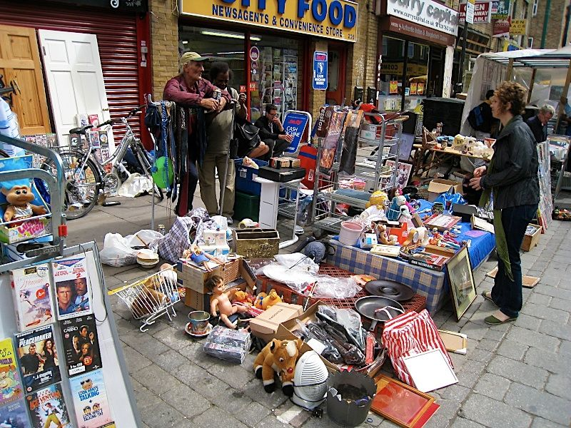 Brick Lane Market, east London Voyage à londres, Londres