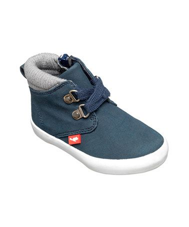 Take a look at this Blue Michigan Ankle Boots by Chipmunks on #zulily today!