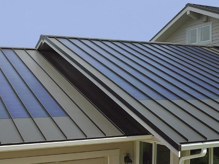 Best Nice Design Model For Metal Roofing Solar Panels Solar Roof Tiles Solar Roof 400 x 300