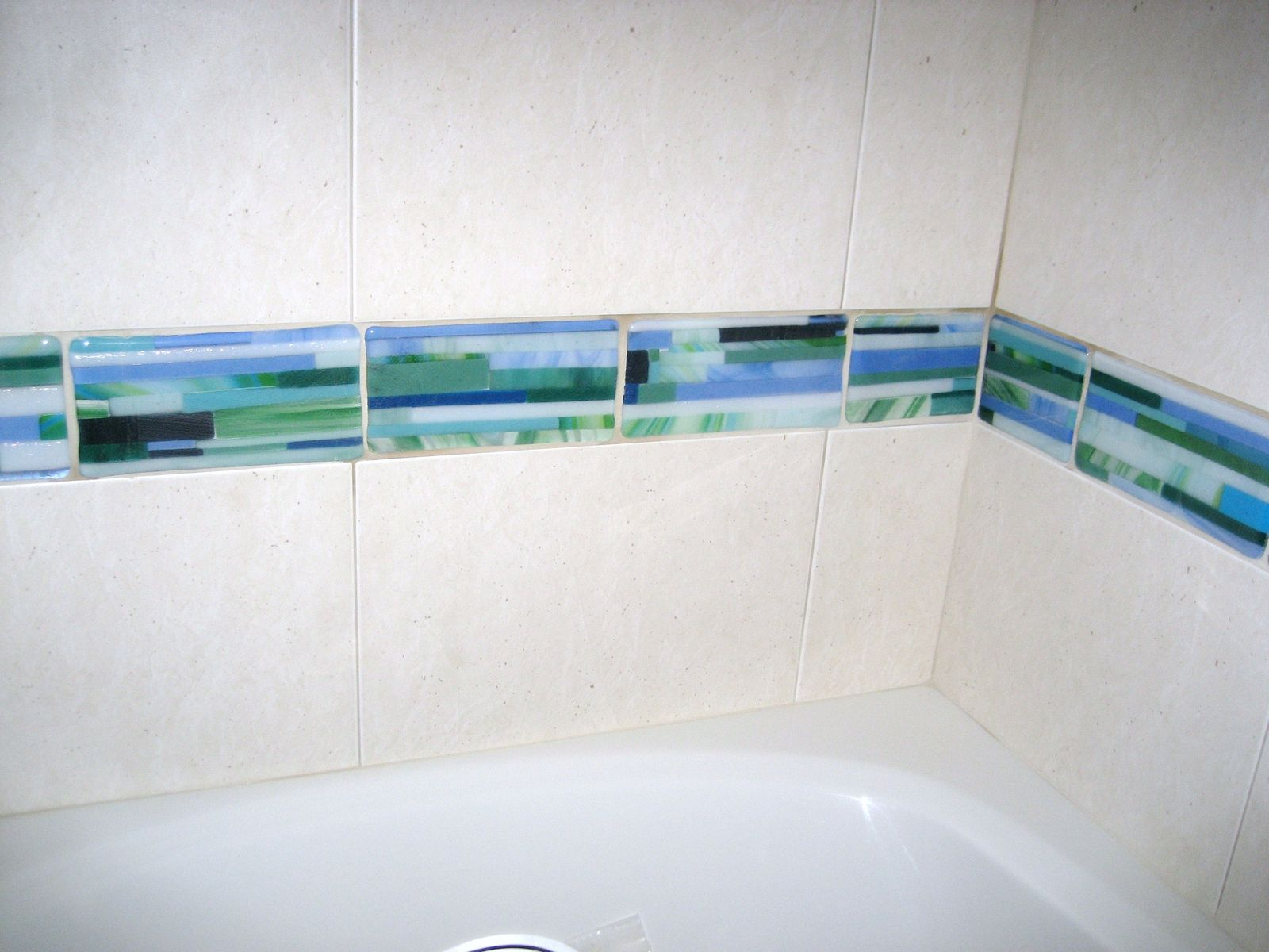 Hand Crafted Custom Glass Tiles by Grateful Glass   CustomMade.com ...