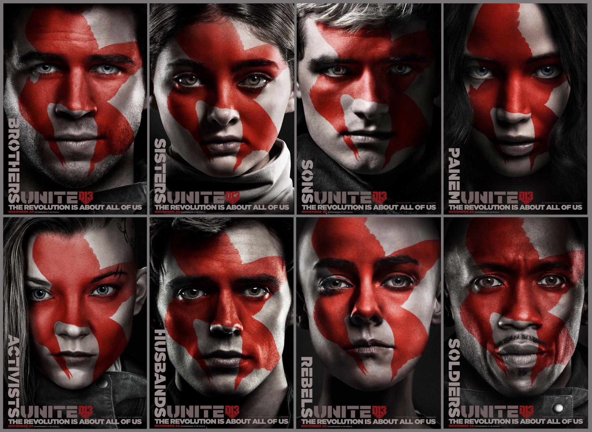Posters Hunger Games Mockingjay Part 2 Faces Of The Revolution Hunger Games Wallpaper Hunger Games Mockingjay Hunger Games