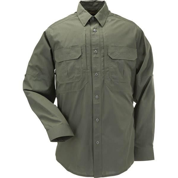 5.11 Taclite Pro Long Sleeve Shirt, TDU Green, S