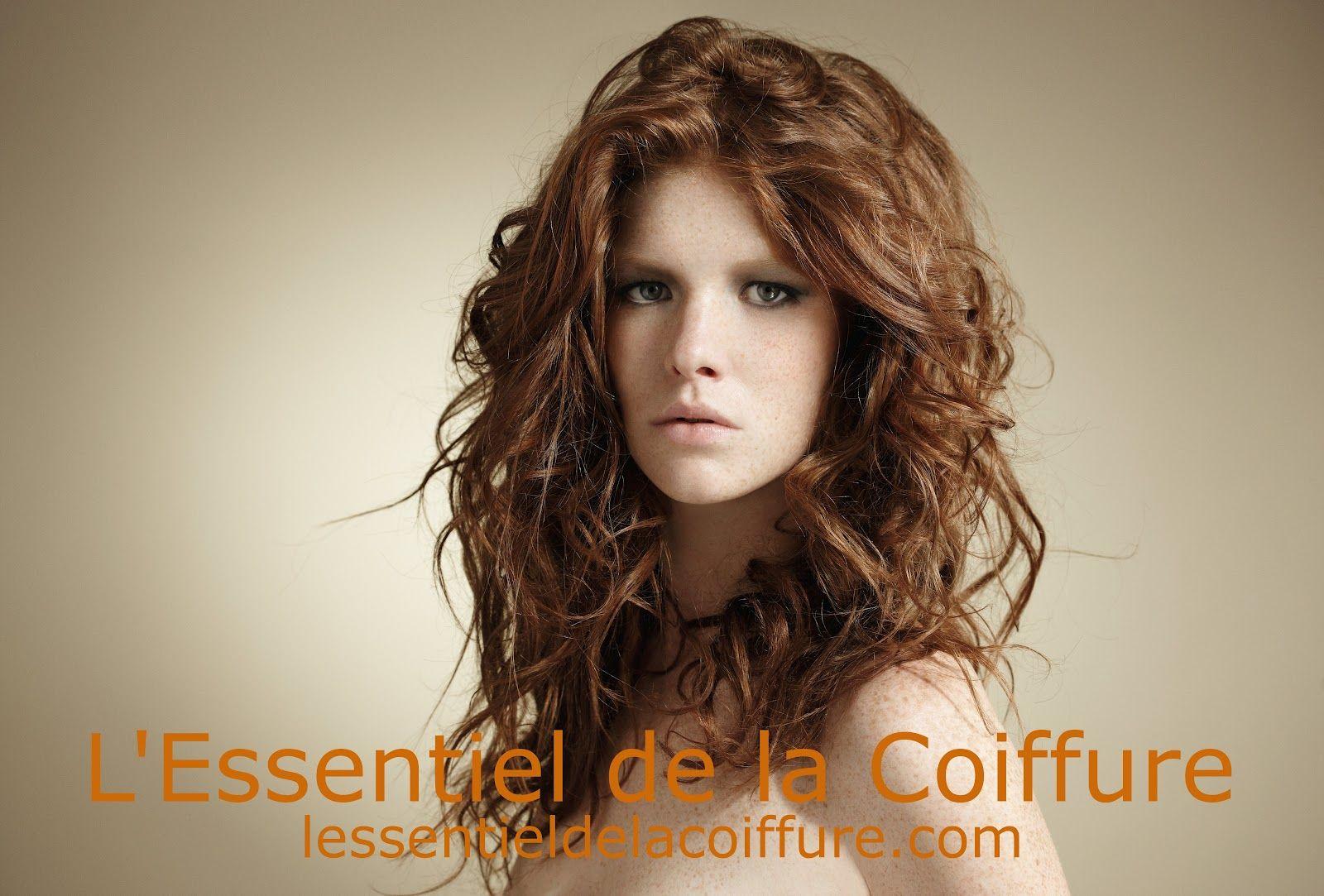 David Lucas Leonore rousse cheveux longs souples bouclés