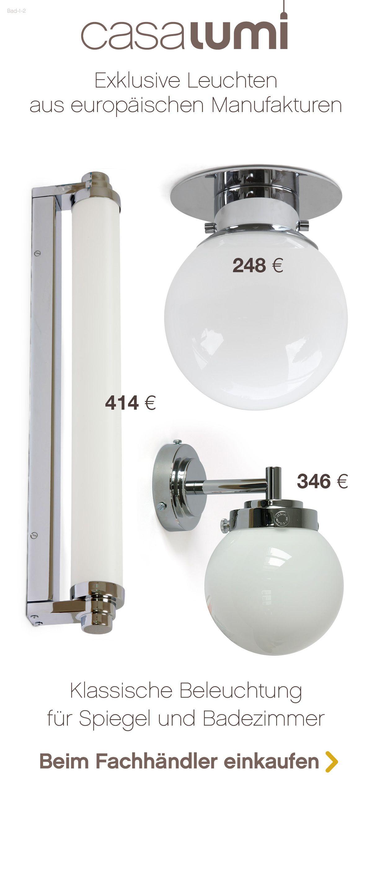 Exklusive Und Klassische Leuchten Fur Das Badezimmer Leuchten Badezimmerlampe Edison Lampe