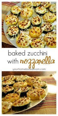 Photo of Baked Zucchini with Mozzarella