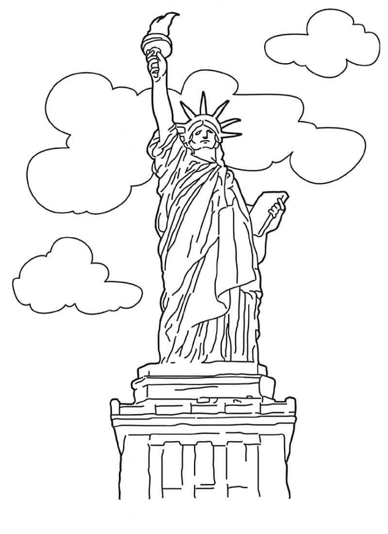 Free Statue Of Liberty Coloring Pages Coloring Pages Inspirational Bird Coloring Pages Free Coloring Pages