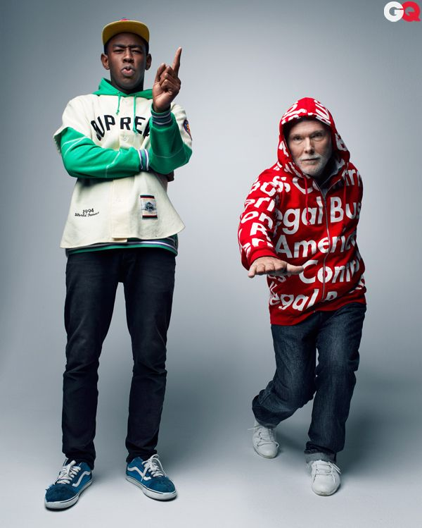 c82422950fac1a Musical entertainers Tyler the Creator and GQ stylist Glenn O Brien have  made the street wear brand Supreme increasingly popular. Supreme focuses on  quality ...
