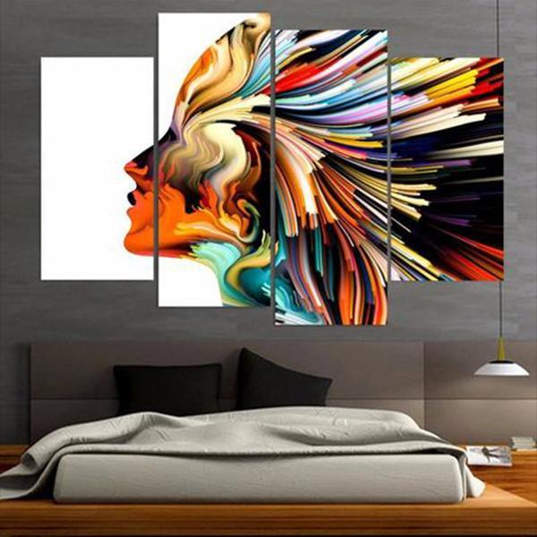 Colors Multi Panel Canvas Wall Art