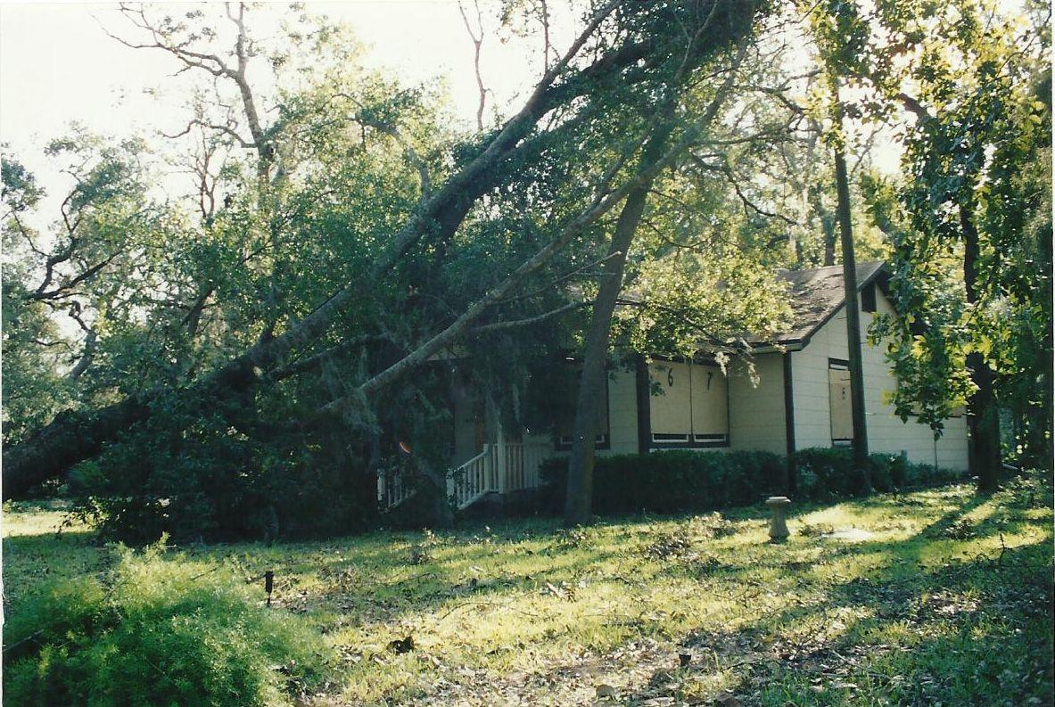 Hurricane Opal Damage Photo By My Mom Hurricane Opal Photo Florida