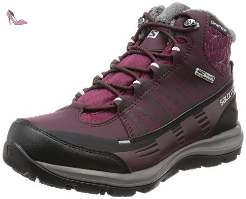 Sense Ride W, Chaussures de Trail Femme, Rouge (Sangria/Living Coral/Virtual Pink 000), 38 EUSalomon