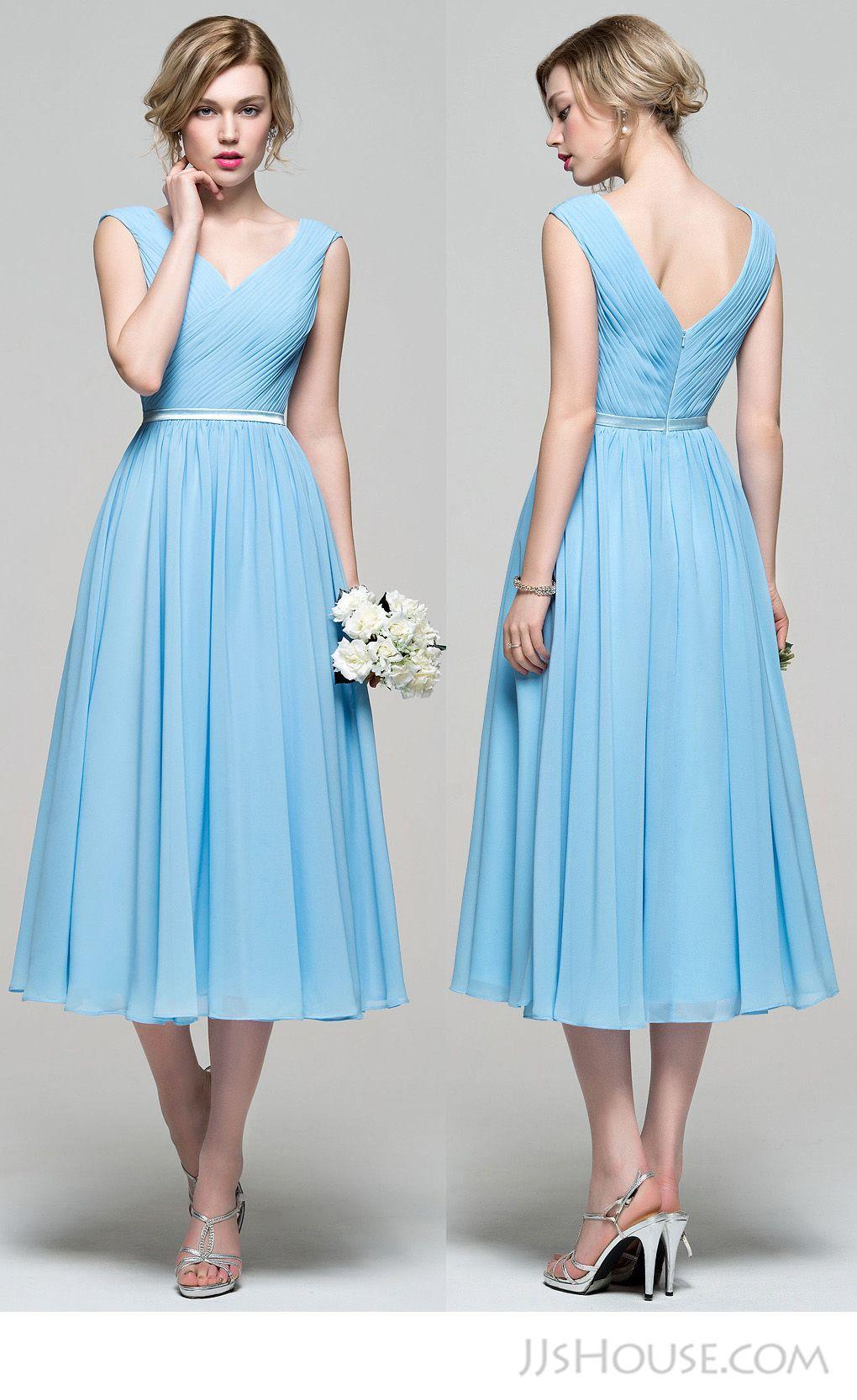 Perfect v-neck bridesmaid dress. #JJsHouse #JJsHouseBridesmaidDress ...