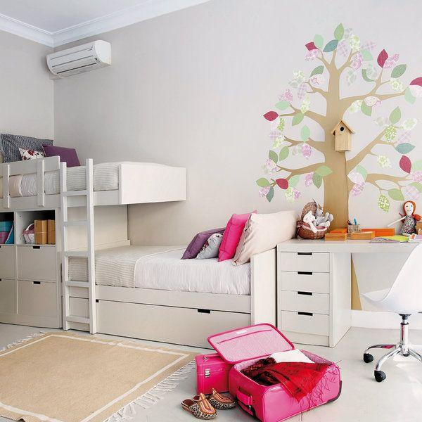Con litera tipo tren manualidades para todos pinterest literas dormitorios y dormitorios - Habitaciones juveniles tipo tren ...