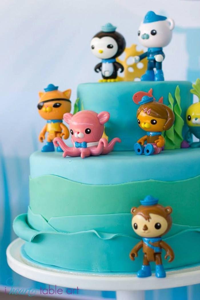 Octonauts Themed Birthday Party Ideas Decor Planning Cake