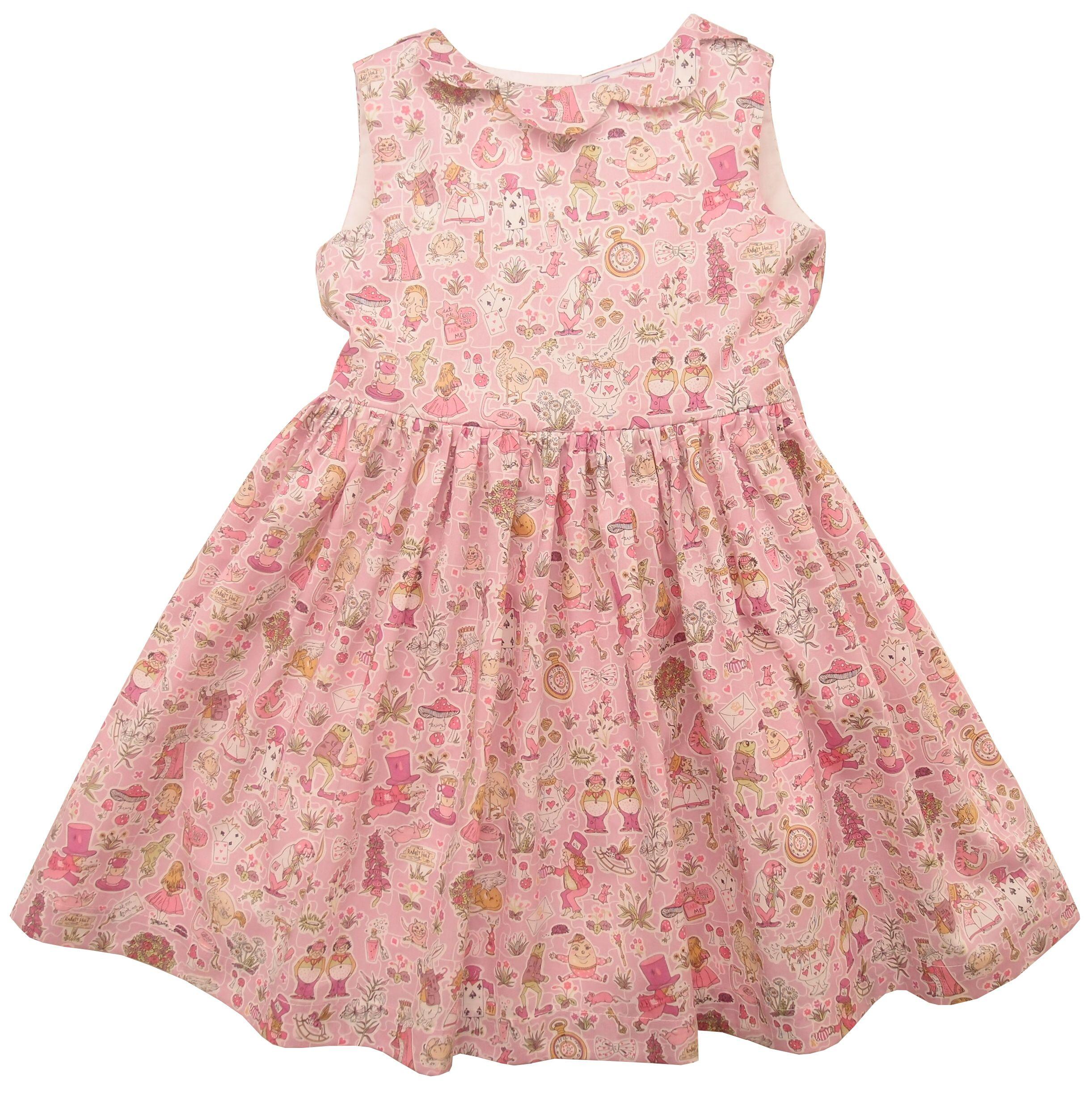 Girls Liberty Print Alice in Wonderment dress - Gallymoggers #SS15 ...