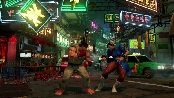 Street Fighter V!! Exclusively to the PS4 and PC
