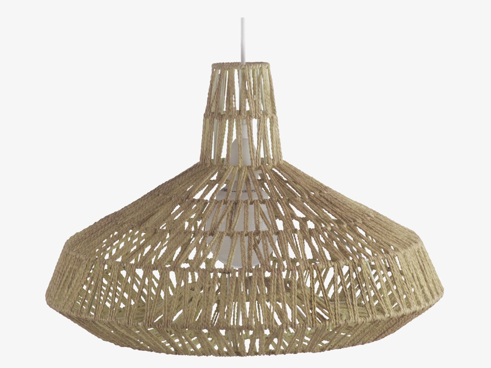 Habitat | Ceiling light shades, Jute and Ceiling