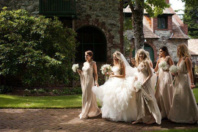 Romantic DIY Fairytale Wedding Blush Pink Ruffles Lace