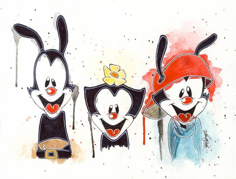 Animaniacs By Lukefielding Cartoon Art Styles Cartoon Art