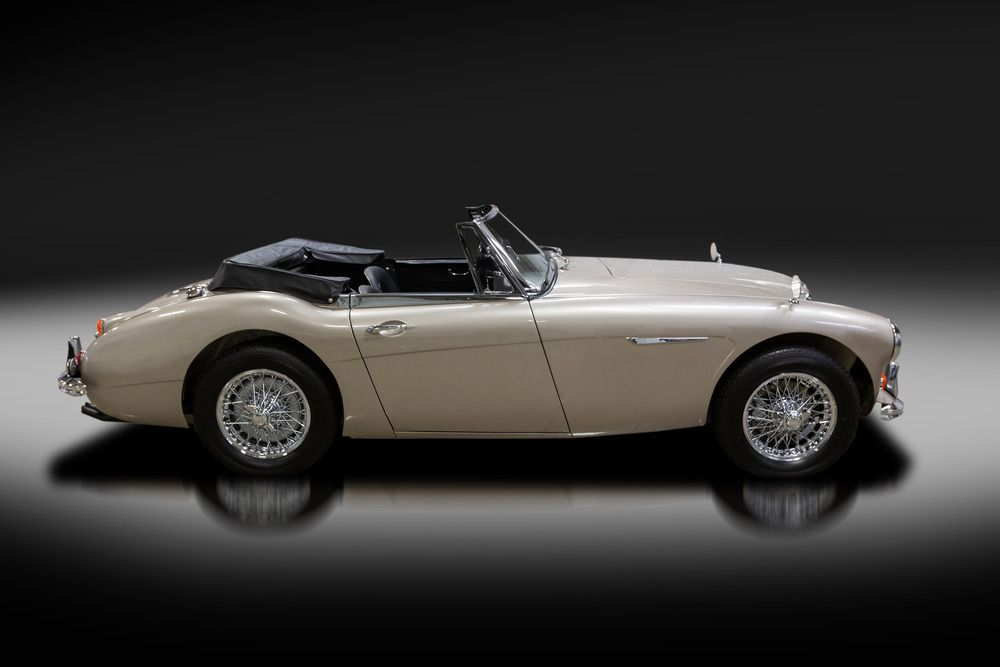 1967 AUSTIN-HEALEY 3000 MARK III BJ8 CONVERTIBLE – Barrett-Jackson Auction Company – World's Greatest Collector Car Auctions