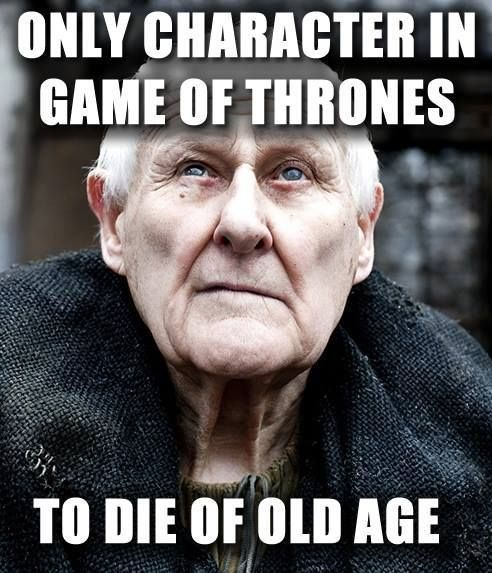 Old Age Game Of Thrones Meme Got Game Of Thrones Game Of Thrones Funny