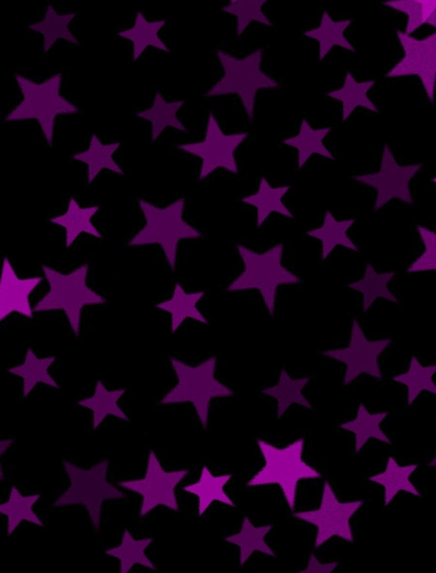 Pink And Black Stars Pink And Black Star Background X X By