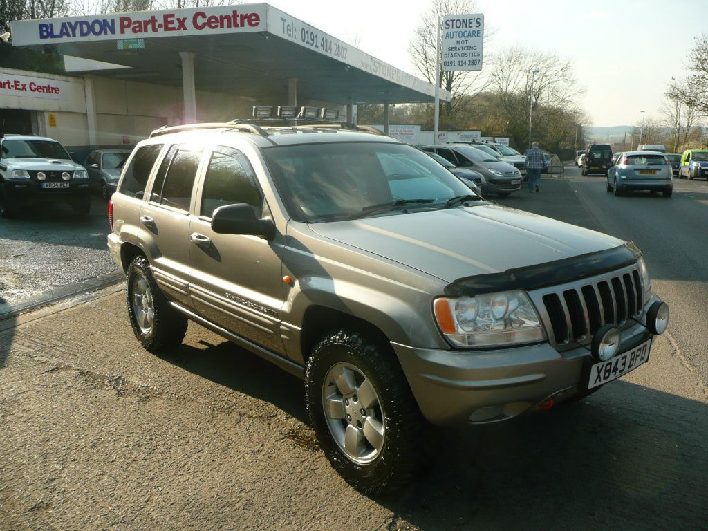 Jeep Grand Cherokee 4 7 Limited 5dr Auto Jeep Grand Cherokee Used Jeep Cherokee Car
