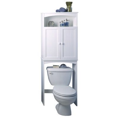 """Zenith Cottage Free Standing 24.63"""" W x 64.75"""" H Over the Toilet Storage"""