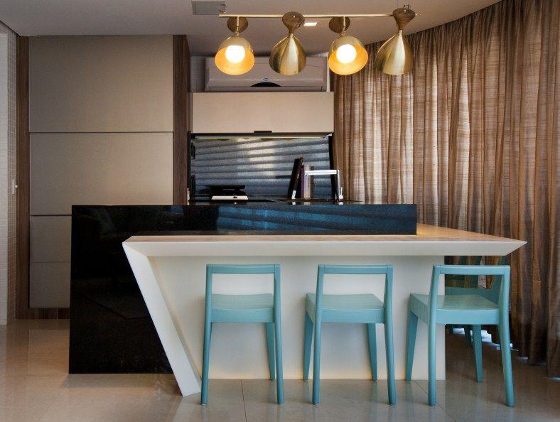 Apartamento Centro, Florianópolis, SC - Mariana Pesca Arquitetura