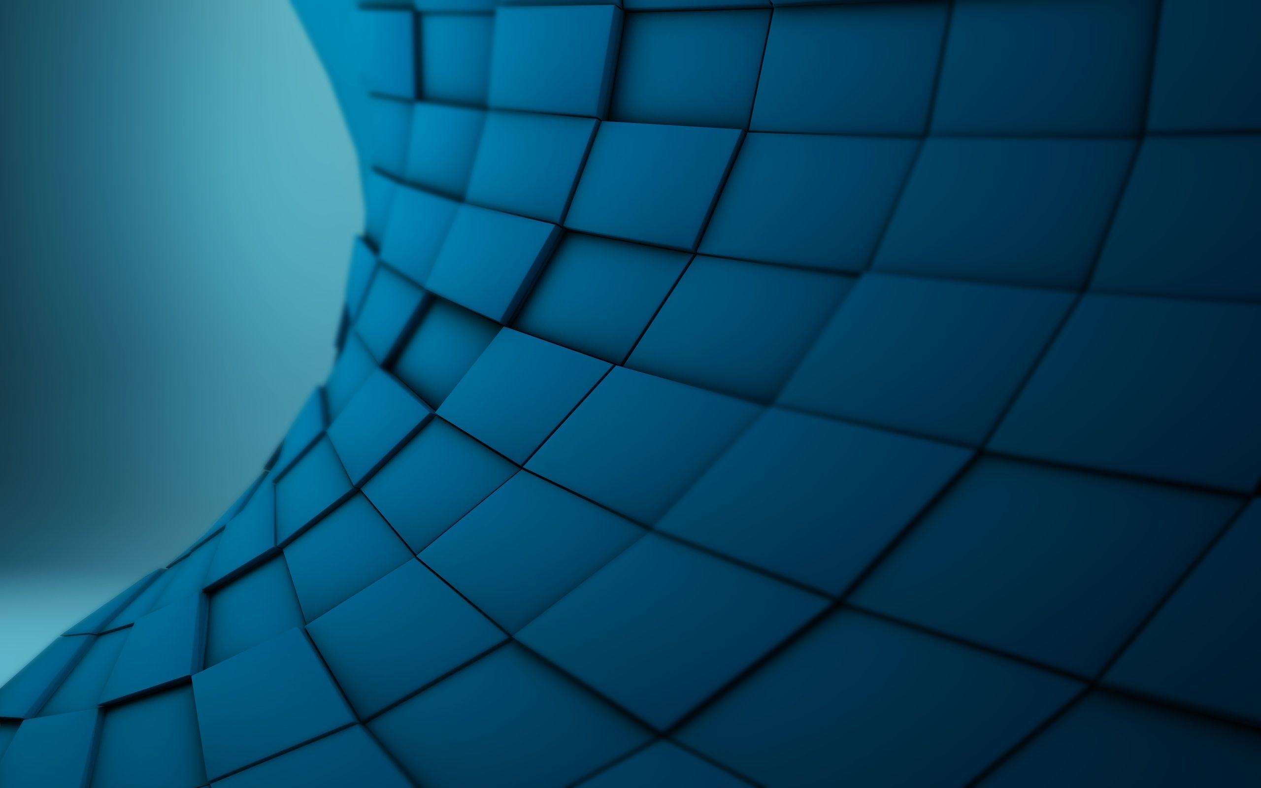 Block 3d Blue Abstract Wallpaper Cool Backgrounds Wallpapers Waves Wallpaper Blue Background Wallpapers