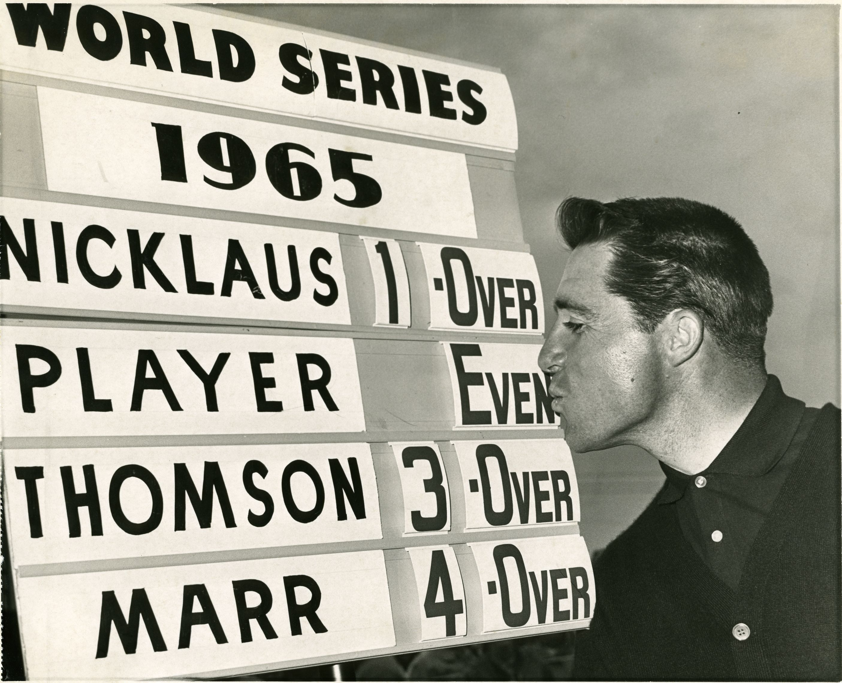 Did you know Gary Player won 3 World Series of Golf championships at Firestone in '65 '68 & '72? 1st prize was just $50K.