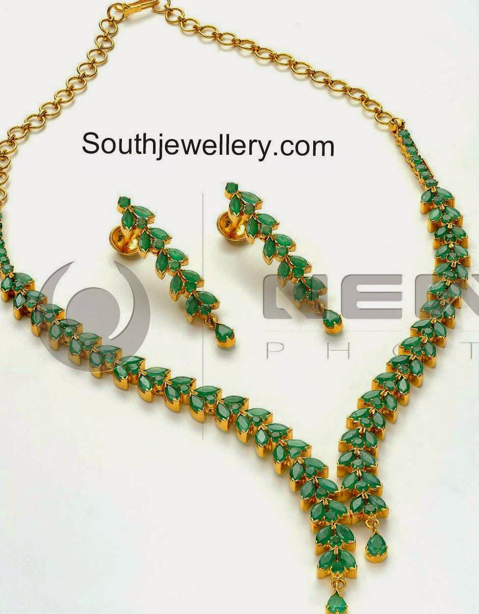 Emeralds Necklace Sets Emerald Necklace Jewelry Precious