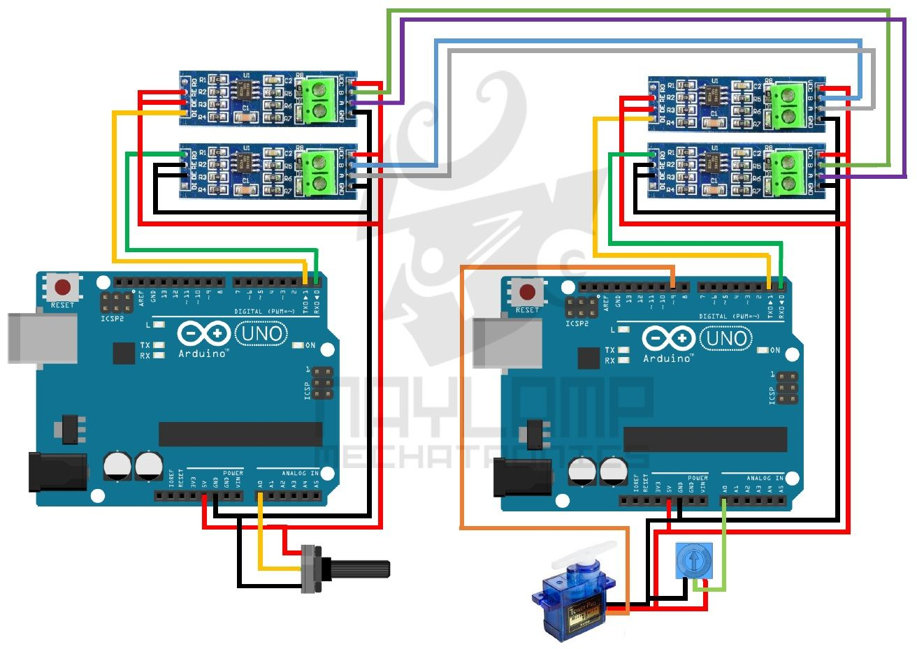 e93858fe50417e0c7e4ba8dda79cbe16 arduino rs485 full duplex arduino pinterest arduino rs485 RS 485 Pinout Diagram at bayanpartner.co