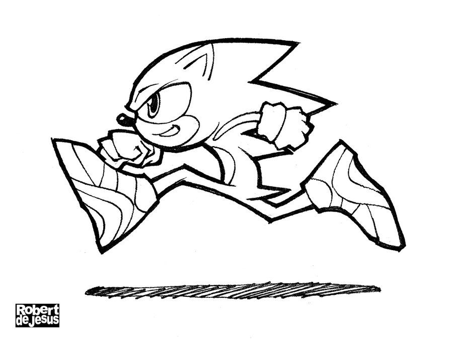Sonic The Hedgehog Line Art By Banzchan On Deviantart Line Art Art Sonic The Hedgehog