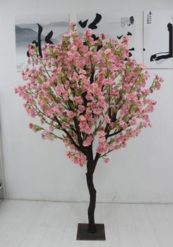 2014 Sj At019 Factory Artificial Flower Tree For Home Hotel Wedding Decoration Artific Artificial Cherry Blossom Tree Artificial Flowers Cherry Blossom Flowers