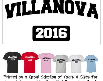 villanova 2016 wildcats just words distressed mens tee womans t shirt baby jumper creeper gift for