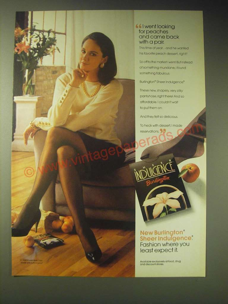 Fruit of the loom pantyhose ads of 1979 agree with