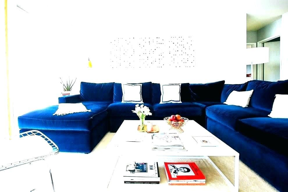 Image Result For Navy Blue Sectional Sofa Canada Sectional Sofa Blue Velvet Sofa Living Room Velvet Sofa Living Room