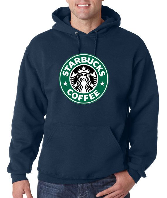 Men Starbucks Coffee Hoodie Sweatshirt Quality por Piano2015