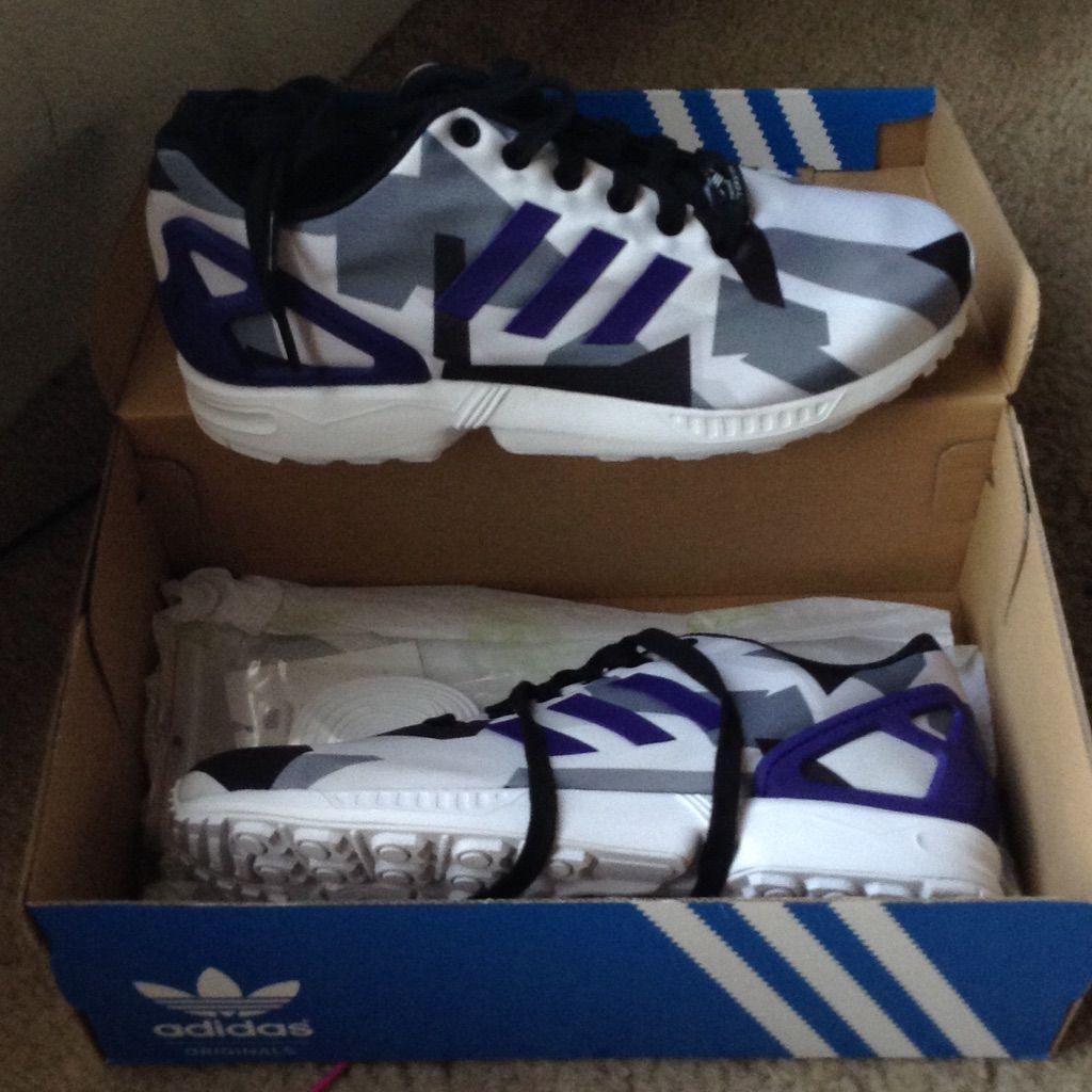 adidas chile, adidas ZX FLUX Sneaker weiß Schuhe Sneaker