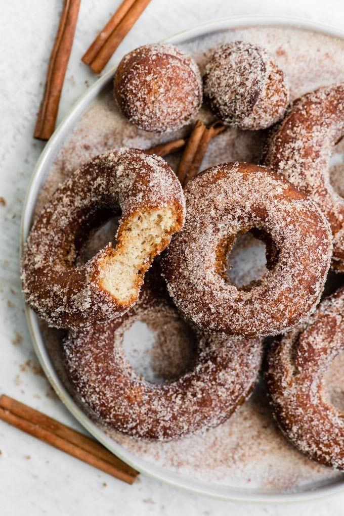 Vegan Classic Apple Cider Donuts Recipe Apple Cider Donuts Vegan Dessert Recipes Cider Donuts